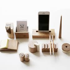 Wooden Desk Accessories Celebrate Avant Garde Russian Architecture With This Wood Desk Set