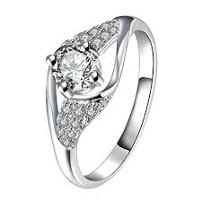 cheap mothers day rings women new s day beautiful 925 sterling silver clear