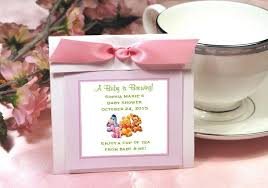 tea bag favors winnie the baby pooh and friends party tea bag favors pavia