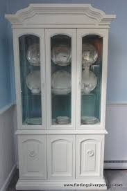 juliet china cabinet before u0026 after finding silver pennies