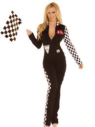 Nascar Halloween Costume 102364 Buy Playboy Racy Racer Costume Halloween Costumes