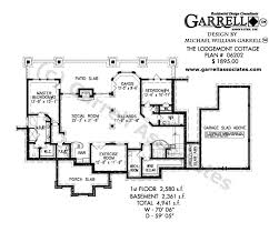 Level Floor Lodgemont Cottage House Plan House Plans By Garrell Associates Inc