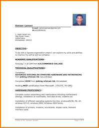 free download job resume format and resume download in ms word