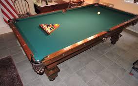 Smart Pool Table Antique Brunswick Pool Table Seeburg Juke Box Auction R Craig