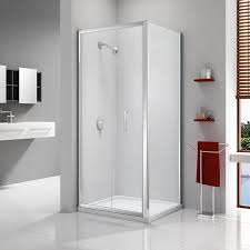 bifold shower door frameless merlyn ionic express bi fold shower door a0300d0 900mm