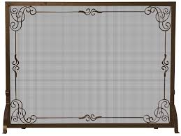 nice oversized fireplace screens part 1 fireplace screen 13 1