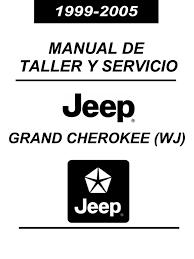 manual reparacion jeep grand cherokee 99 05