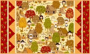 free pattern the thanksgiving wallhanging runner