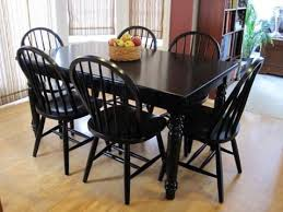 Dining Room Table Black Best 25 Paint Dining Tables Ideas On Pinterest Distressed With