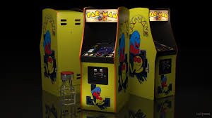 retro video game arcade