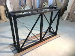 Bunnings Bar Table Bar Table Legs Inch X Inch Steel Bar Base Flat Black