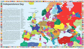 Modern Europe Map by If Every European Secession Movement Succeeded The Balkanization