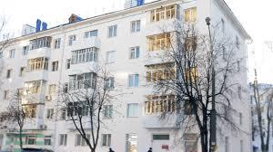 khrushchyovka typical ussr apartment building