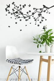 apple blossom branch vinyl wall decal for home improvement nature