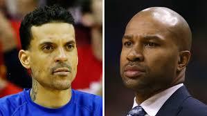Matt Barnes Fight Matt Barnes Nba Investigating Incident With Knicks U0027 Derek Fisher