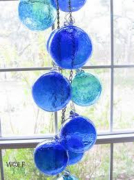 wolf glass ornament suncatcher carriewolf net