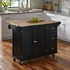 competitive price wood kitchen cabinet trolley with rubber wood