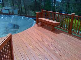 decks for above ground pools with custom decks for above ground