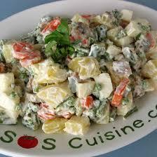 recette de cuisine russe recette salade russe à l italienne