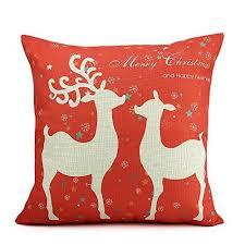 christmas decoration pillows amazon com