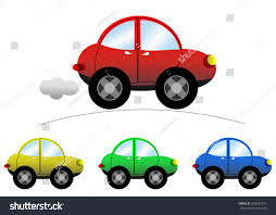 cartoon jeep front set sedan cartoon cars isolated stock vector 399261325 shutterstock