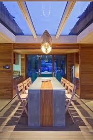 concrete and wood dining table concrete table ideas dining room beach style with concrete table