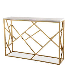 Ivory Console Table Gayle Ivory Goldtone Marble Stainless Steel Console Table Free
