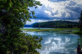 Oregon scenery images Photo usa east lake oregon nature summer forests scenery clouds jpg