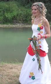 robe de mari e original de mariee baba cool robe blanche bel air