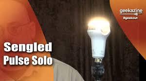 sengled camera light bulb sengled pulse solo bluetooth stereo speaker light bulb youtube