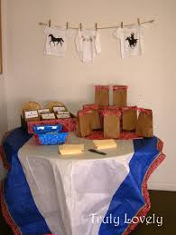 cowboy baby shower games