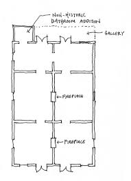 Shotgun House Plans Designs The Floor Plan A Creole Cottage