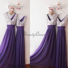 silver sequin bridesmaid dresses purple bridesmaid dress silver sequins bridesmaid dress
