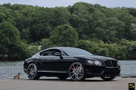 black bentley bentley gt v8 s black di forza bm12 savini wheels