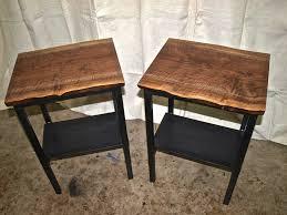 Spalted Maple Live Edge Desk Custom Furniture Portland OrCustom - Custom furniture portland