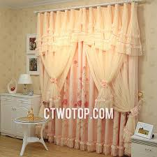 Lace Curtains And Valances Country Princess Floral Best Beige And Pink Lace Curtains No