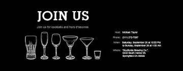 free cocktail party invitations u0026 rsvp tracking evite com