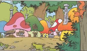 smurfs comic book universe location smurfs fanon wiki fandom