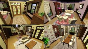 Halliwell Manor Floor Plan by My Sims 3 Blog Oct 10 2013