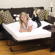 sofa bed memory foam mattress creative of sleeper sofa with memory foam mattress cool home
