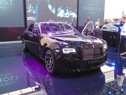 roll royce black rolls royce wraith and ghost black badge editions launch in geneva