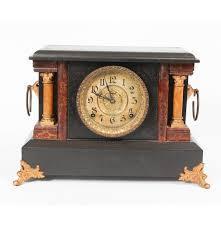 Mantel Clocks Antique Antique E Ingraham Co Mantel Clock Ebth