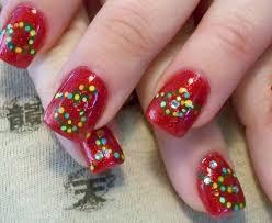 imagenes de uñas pintadas pequeñas uñas de navidad imágenes con los mejores diseños uñasdecoradas club
