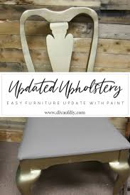 the best trick ever for updating your upholstery with paint