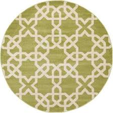 Green Trellis Rug Green Round Area Rugs Rugs The Home Depot