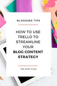 How To Organize Ideas How To Organize Blog Ideas With Trello The Shop Files