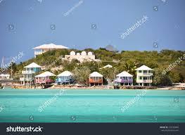 staniel cay yacht club exumas bahamas stock photo 239722849