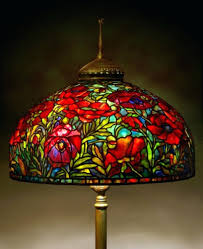 Stained Glass Floor Lamp Floor Lamps 185cm Stained Glass Floor Lamp Stained Glass Floor