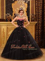 maroon quinceanera dresses black quinceanera dress strapless tulle appliques gown