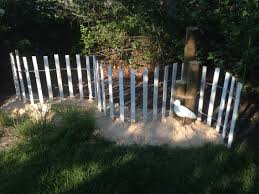coastal garden very inexpensive garden fence 18 00 lowes sand